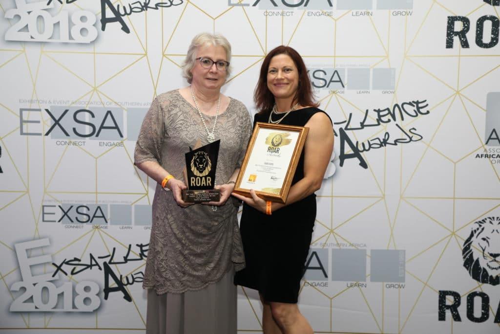 Ann Dalton Isabeau Botha AAXO award